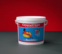 Crystalklor - Granulat rapid 10kg klor til pool