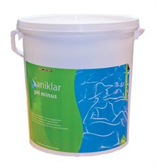 Saniklar pH Minus, syre til pool 9 kg.