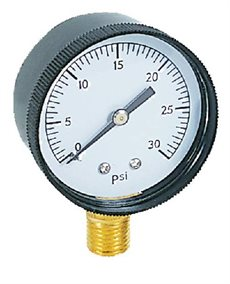 Manometer Ø 50 1/4  BSP 1-3 BAR