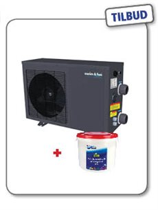 Pool & Spa ECO Varmepumpe 5 kW + GRATIS KLOR